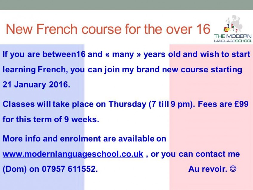 French for beginners in Huddersfield