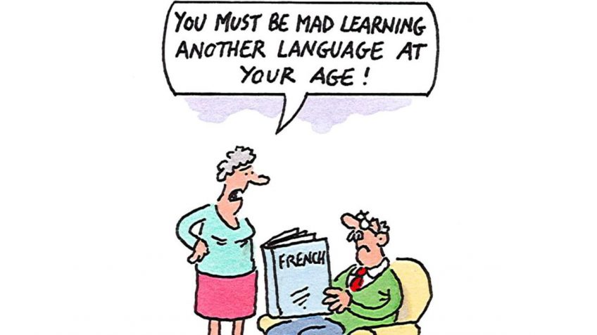 Learn a language to delay dementia