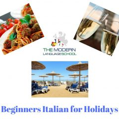 Italian for Holidays 2018 2019 Discounted (4 lessons only)
