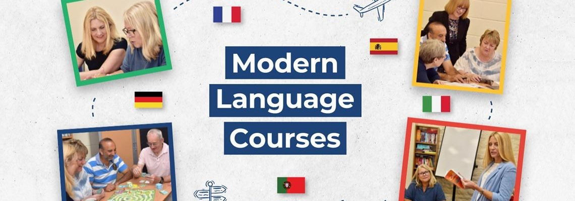 Language classes for adults from £5.23 an hour!