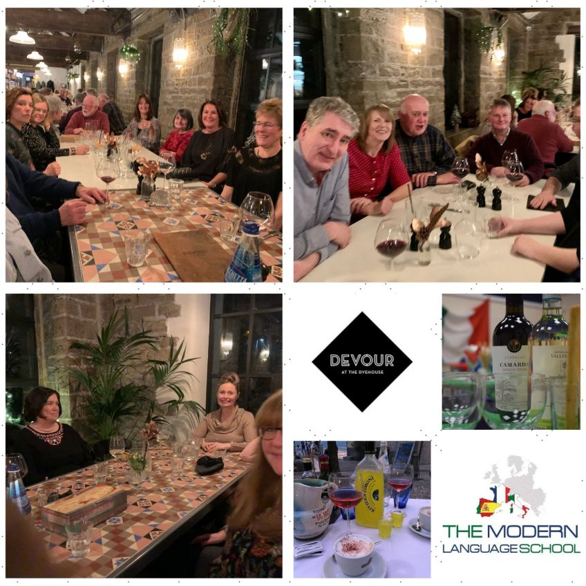 A great night out! Italian Christmas Meal 2019.